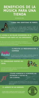 beneficios música tienda