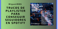 playlister conseguir seguidores Spotify